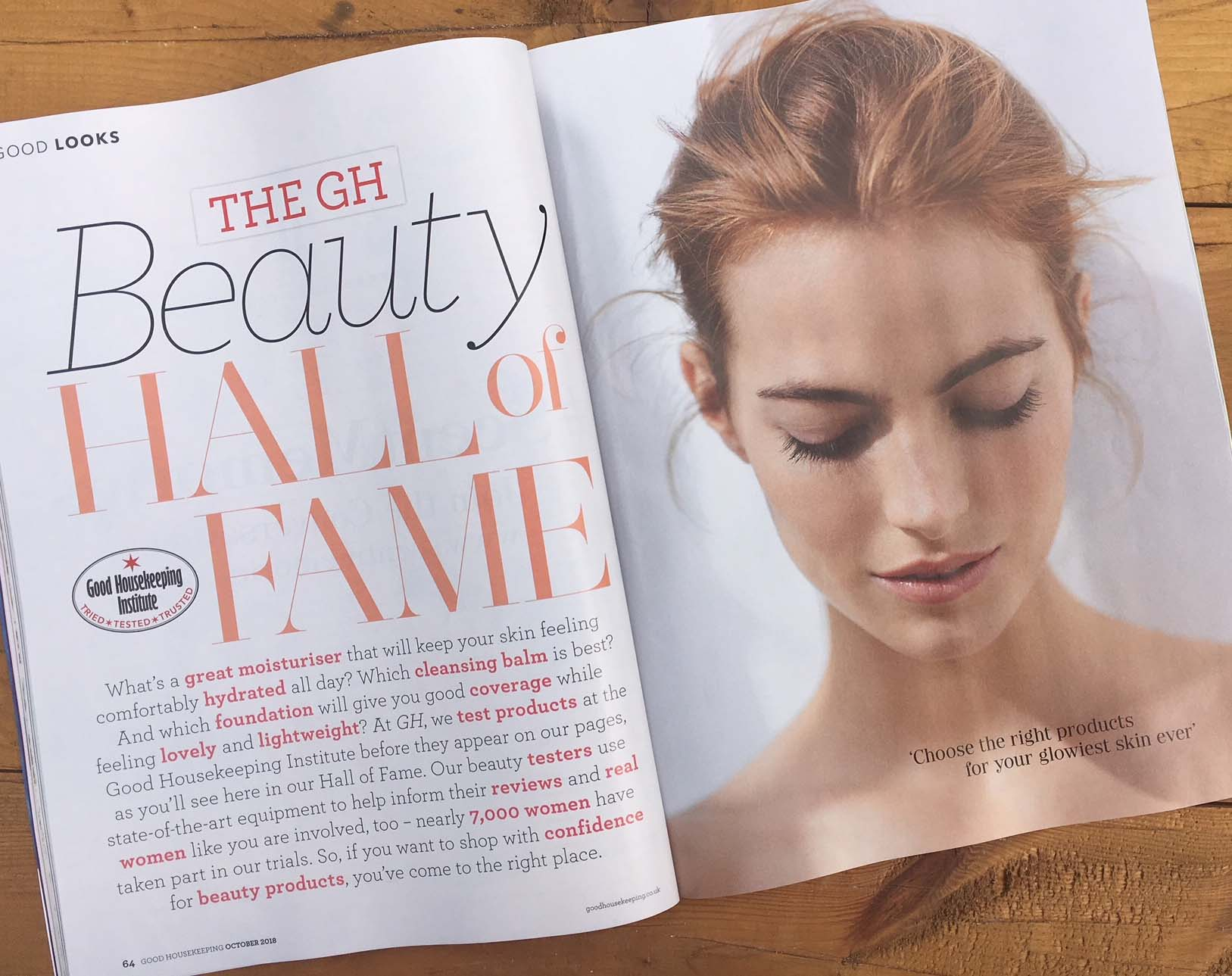 Bloom & Glow is inducted into Good Housekeeping's Beauty Hall of Fame