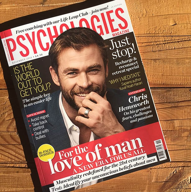 Psychologies Magazines chooses Bloom & Glow by Angela Langford Skincare