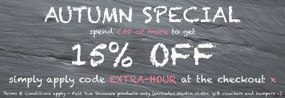 Autumn Special from Angela Langford Skincare